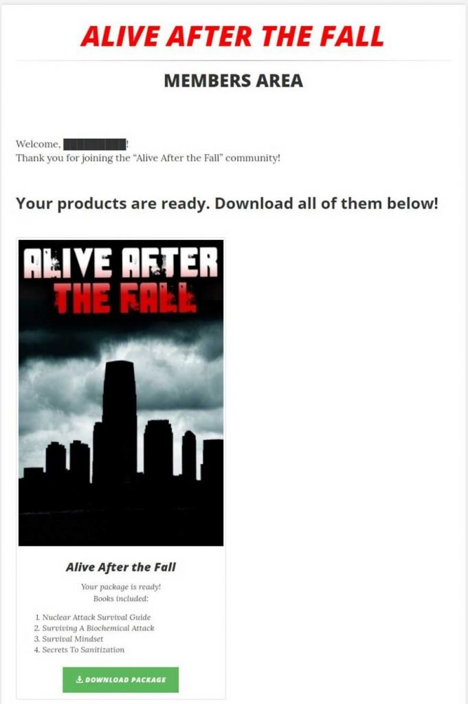 Alive After The Fall Download PDF Free