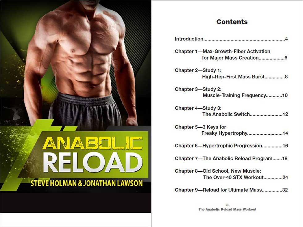 Anabolic Reload Anabolic Running Program by Steve Holman. Our Full Review, PeakToBest