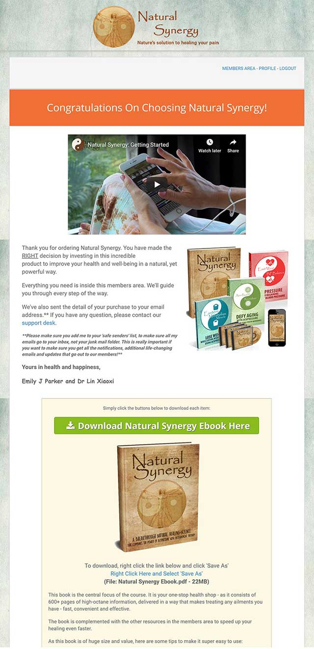 Natural Synergy Review – How Can It Help You Increase Your Health?, PeakToBest
