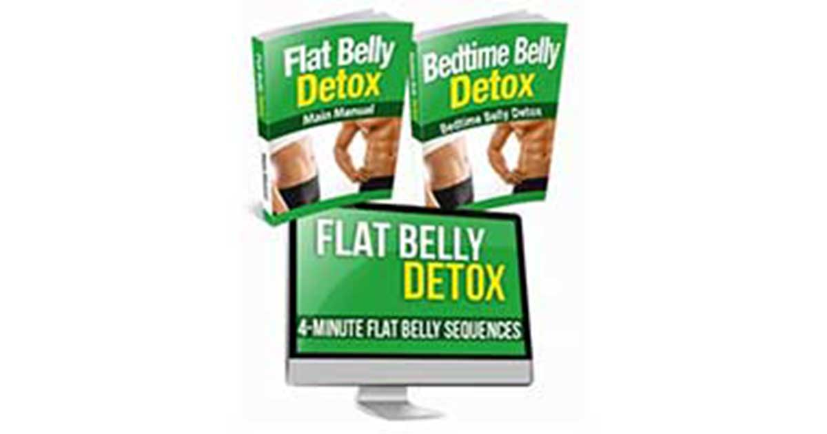 Josh Houghton's Flat Belly Detox Review – What is the 21-Day Regimen About?