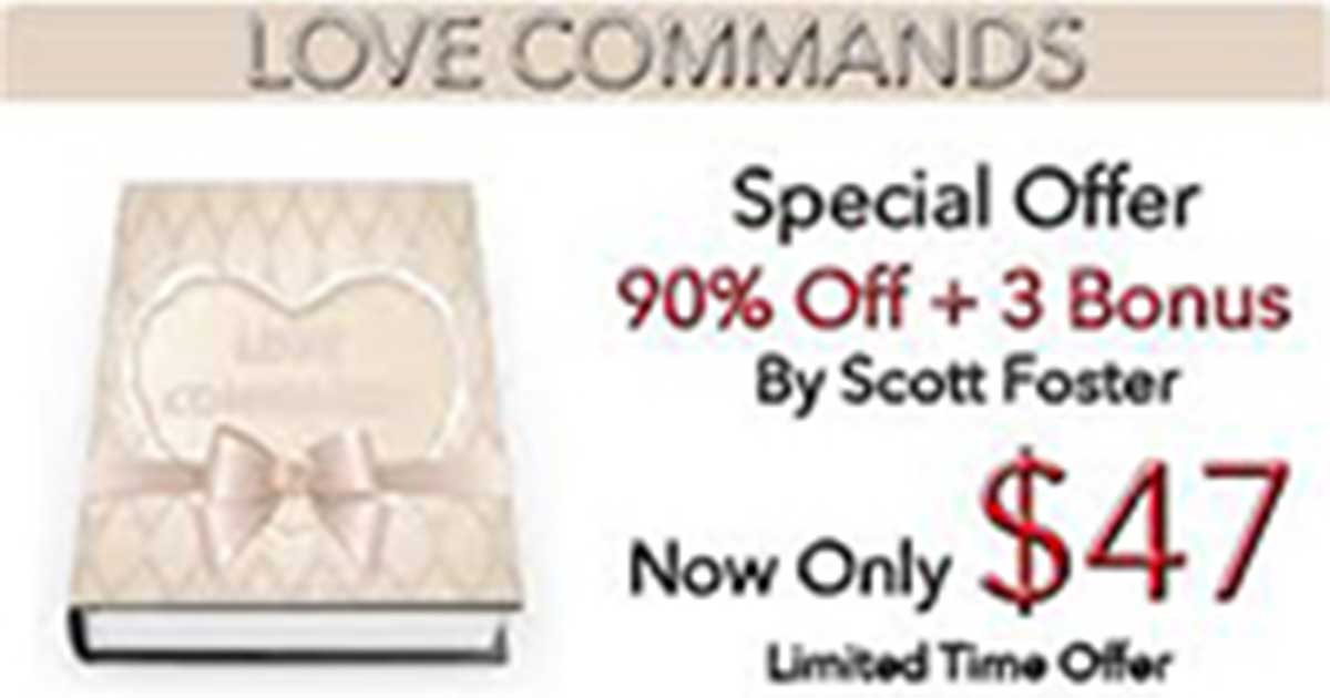 Love Commands Review – Catch and Keep Any Man You Desire