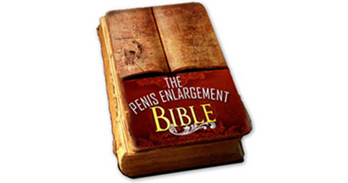 Penis Enlargement Bible -: How To Make Your Penis Bigger Naturally