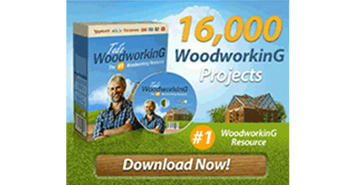 Ted's Woodworking Plans – 16,000 Woodworking ,Save Time & Money!
