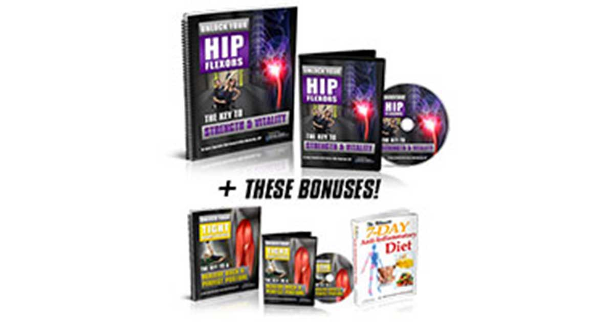 Unlock Your Hip Flexors Revamped For 2020! – DON'T BUY UNTIL YOU READ MY HONEST OPINION.