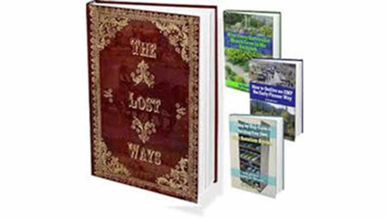 The Lost Ways survival book The Best Survivalist Guide by Claude Davis