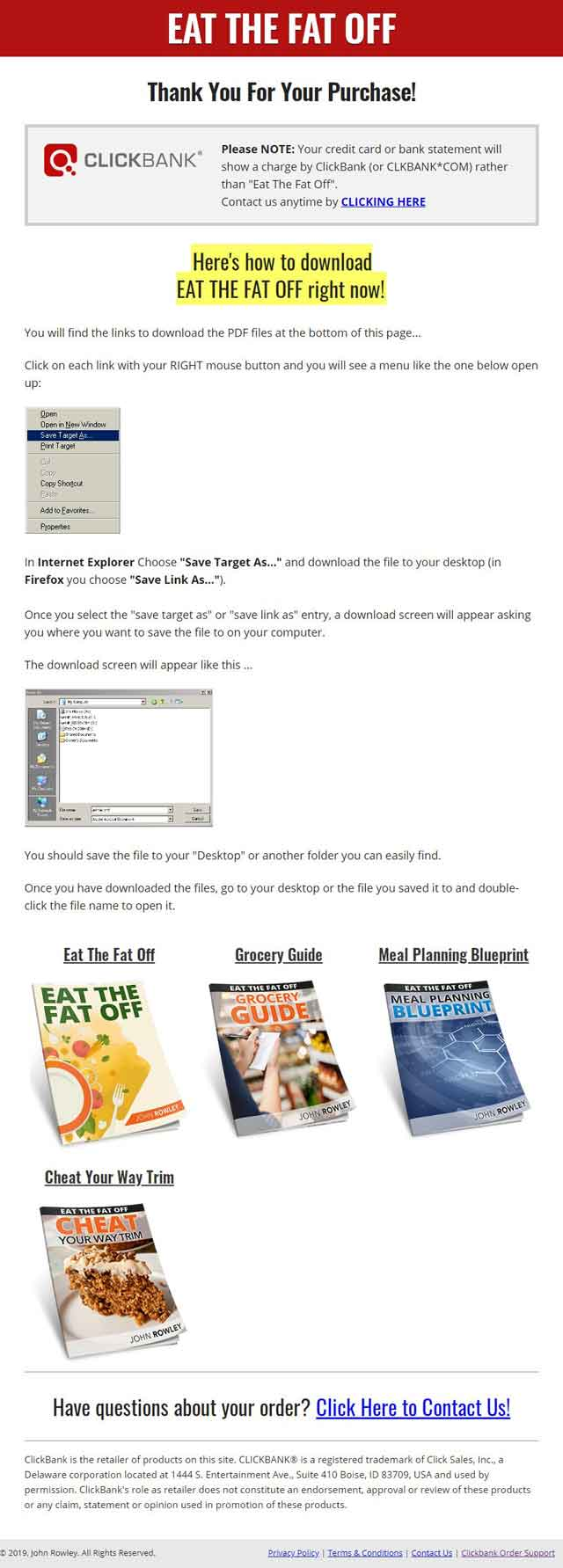 Eat The Fat Off Review: What's the 21-Day Regime Like? Does it Work? Free Download PDF