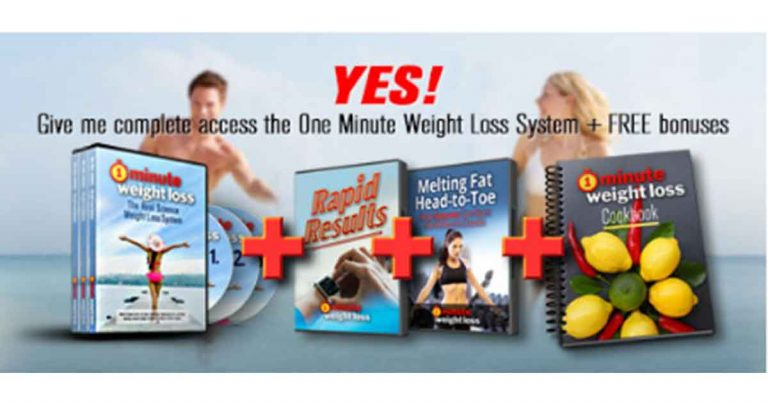 Summary of The 1 Minute Weight Loss System PDF