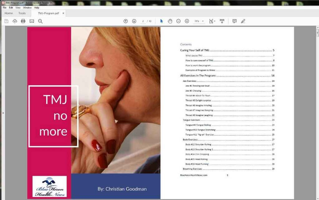 The TMJ Solution Review: A Full Walkthrough of the Program! Download Free PDF