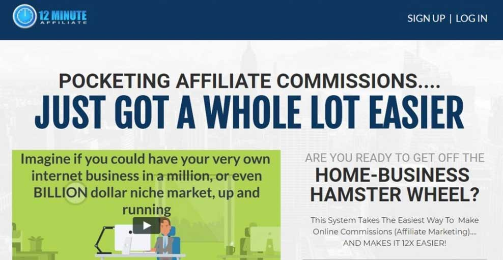 12 Minute Affiliate Review: A Legit Affiliate Marketing System That Can Help You Make Money Online Or A Scam?