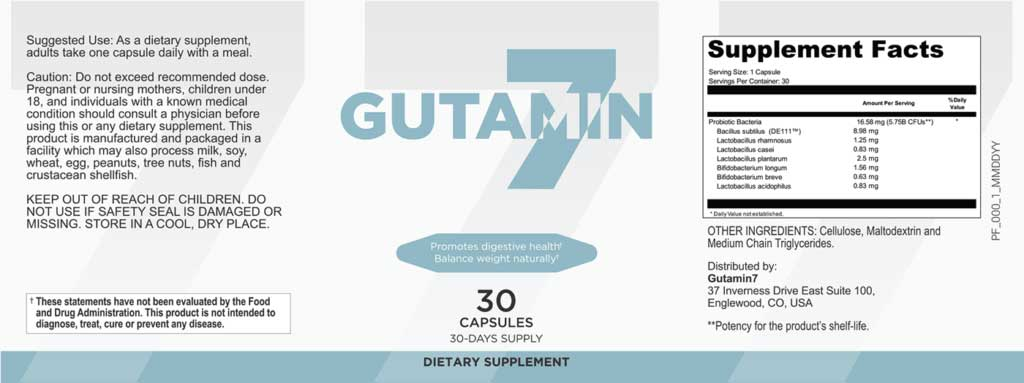 Gutamin 7 Review - Support Healthy Gut And Lose Some Weight?