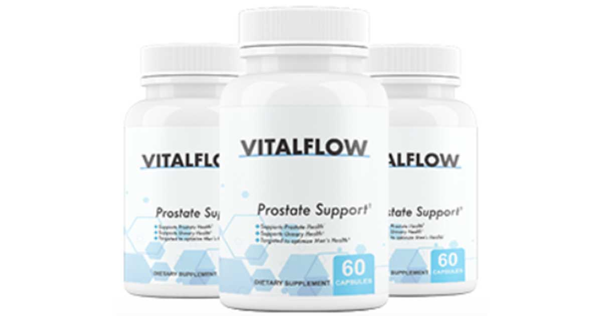 VitalFlow Reviews – Vital Flow Prostate Support Supplement In US, CA, UK & AU – Full Information