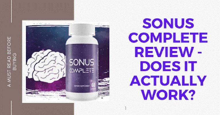 Sonus Complete Reviews Does Sonus Complete For Tinnitus Really Work