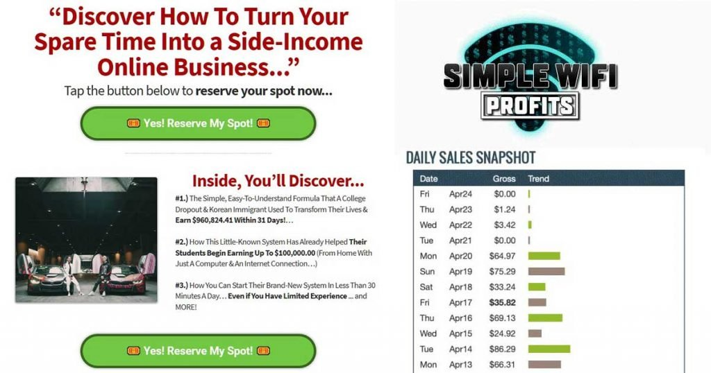 Simple Wifi Profits Review - Does It Really Work?