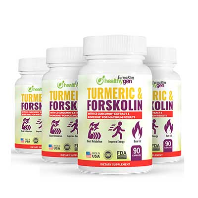 Healthygen Turmaslim Supplement Pill Supplements That Burn Fat Build Muscle and Boost Your Sex Drive