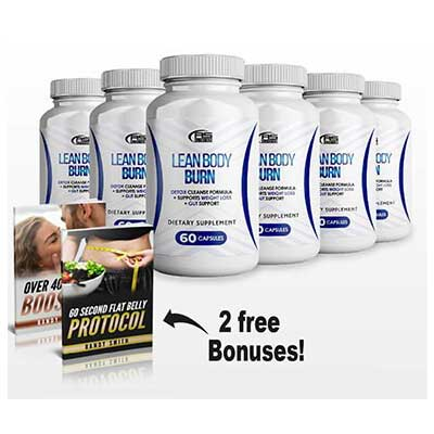 Lean Body Burn Supplement Pill Supplements That Burn Fat Build Muscle and Boost Your Sex Drive
